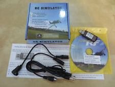 USB Cable Interface Flight Simulator for JR Graupner Futaba Walkera FlySky FS