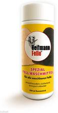 Fell-Waschmittel für alle waschbaren Felle. 200-ml Konzentrat von Heitmann