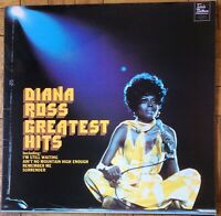 Diana Ross - Greatest Hits LP Record Vinyl STMA 8006 Tamla Motown 1972