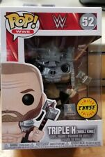 Funko Pop Wwe Triple H Skull King Chase 52 W/Protector