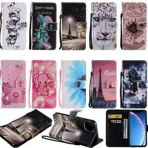 Flip Wallet Leather Stand Cover Case For Samsung S20 Note 10 A51 A71 S10 5G A50