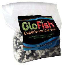 Aquarium Gravel Black with White Fluorescent 5 Pound Decorative Fish Tank Plants
