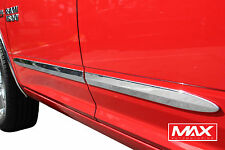 BSDO601 2005-2010 Dodge Dakota Crew Cab Chrome Side Door Body Molding Trim 2""