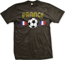 France European National Soccer Team The Tri-colors French Mens T-shirt