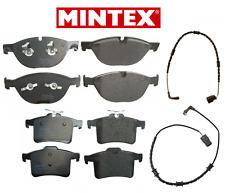 Front Brake Pads & Rear Brake Pads Set OEM Mintex + Sensors Jaguar V8 5.0L