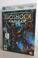 BIOSHOCK 2007 NEW Sealed Slipcover Shooter 2K M PC Game DVD-ROM FREE S/H