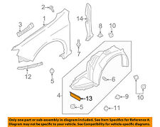 SUBARU OEM 08-14 Impreza Fender-Retainer Plate Deflector Right 59123AG000