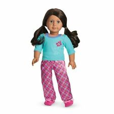 American Girl Petals And Plaid Pajamas Pj's-Brand New In A Box