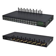 1U 16 Channels 64 sim slots WCDMA 3G GOIP VoIP Gateway Support SIM Card Rotating