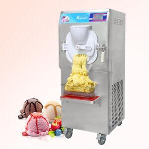 Kolice Commercial Heavy Duty 35 Quart/Hour gelato hard ice cream machine