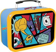 Adventure Time Comic Book Halftone Lunch Box