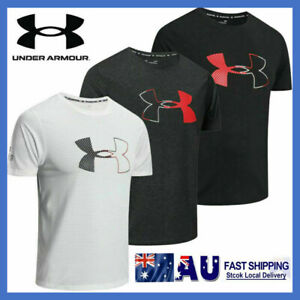 New Under Armour Mens UA T Shirt Fitness Gym Running Quick Dry T-Shirt Tops AU