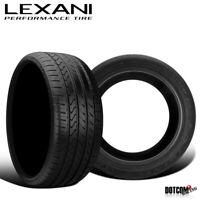 2 X New Lexani LX-Twenty 345/25R20 100Y Ultra High Performance All-Season Tires