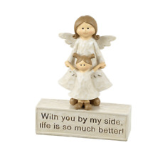 Mother and Daughter Angel Sentiment Decoration Gift #kcc180