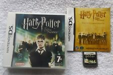 HARRY POTTER AND THE ORDER OF THE PHOENIX NINTENDO DS FAST POST ( + manual )