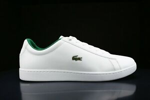 NEW IN BOX LACOSTE MEN CROCODILE LOGO HYDEZ LEATHER SNEAKERS SHOES ORDHOLITE ECO