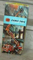 CORGI TOYS 1127, Fire Engine, Comme neuf en boite