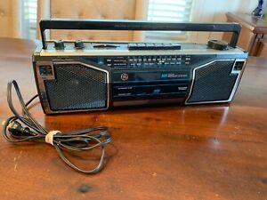 Vintage 1980's GE Am/Fm Sterero Cassette Recorder Boombox 3-5622B Tested Works!