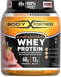 Suplementos Para Aumentar La Masa Muscular Proteina whey fresa Ganar-Muscular