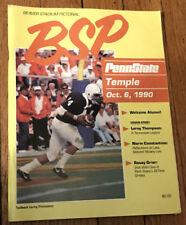 BEAVER STADIUM PICTORIAL Penn State v Temple Leroy Thompson 10.6.90