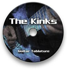 The Kinks Rock Pop Tabs Tablature Lesson Software CD - Guitar Pro
