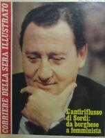 CORRIERE DELLA SERA ILLUSTRATO N.48 1980 ALBERTO SORDI