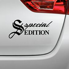 Special Edition Aufkleber Tuning OEM Decal Autoaufkleber