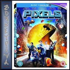 PIXELS -  Adam Sandler  *BRAND NEW BLU-RAY REGION FREE*