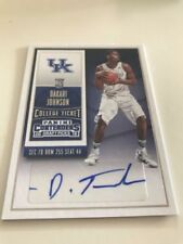 Basketball Trading Cards Contenders 2015-16 Season