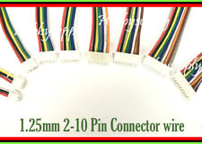 Micro 1.25mm PicoBlade 2-10 Pin Connector Housing Receptacle with 150mm wire x 9