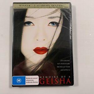 Memoirs Of A Geisha SEALED (DVD 2016) Ziyi Zhang, Ken Watanabe Region 4
