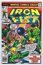 Iron Fist #11 Signed by Chris Claremont w/COA 1977 FineFine+ Marvel Bronze PWC