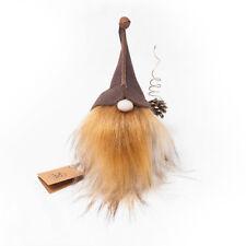 TWOGinger Beard Gnome Collectible handmade vintage interior christmas doll plush