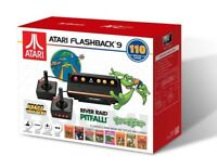 BRAND NEW ATARI FLASHBACK 9 CLASSIC GAME CONSOLE WITH 110 BUILT-IN GAMES