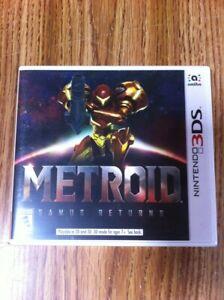 Brand NEW Factory Sealed Metroid: Samus Returns (Nintendo 3DS, 2017)