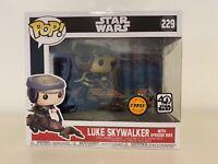 Luke Skywalker with speeder bike-Pop! Bobble-Head 229 (ed. limité) - Star Wars