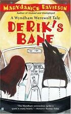 MARYJANICE DAVIDSON pb DERIK'S BANE Bk 3 WYNDHAM WEREWOLF SERIES paranormal Nice