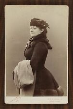 Marie Grisier-Montbazon, Actrice et cantatrice, Opéra, Cabinet card, Photo Nadar