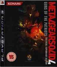 Metal Gear Solid 4 : Guns of the Patriots - Jeu Playstation 3 [PS3]