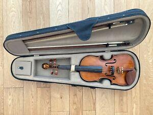 Violon ancien entier 4/4 antique violin fin 19e siècle