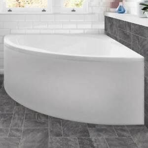 Moods Bathrooms to Love Laguna Luxury Corner Bath (14701) - W1350 x H520mm Wh...
