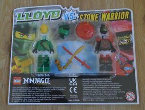 Lego® Ninjago Limited Edition Minifigur Lloyd vs Stone Warrior Steinkrieger