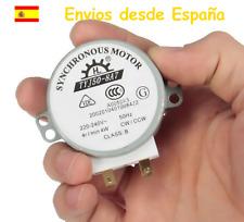 Motor giratorio de plato  para microondas ( válido para multitud de marcas )