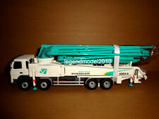 1/50 Korea Everdigm Concrete pump truck miniature ECP52CX