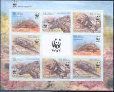 MOZAMBIQUE WWF WORLD WILDLIFE FUND GROUND PANGOLIN SHEET OF 8 IMPERF