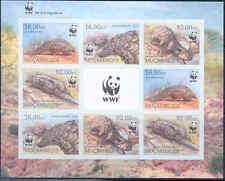 Mozambique Wwf World Wildlife Fund Ground Pangolin Sheet Of 8 Imperf