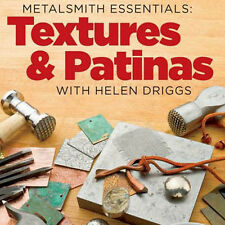 NEW 2 DVD SET: TEXTURES AND PATINAS WITH HELEN DRIGGS Hand & Rolling Mill 3D