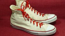 "Converse Vintage ""Made In Usa"" Off-White Men's Sneakers Size 13 Medium Euc"