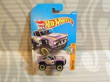 2017 Hot Wheels ''Surf`S Up'' #291 = Custom Ford Bronco = Purple , int