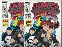 Power Pack #46   Lot of 2 (May 1989, Marvel Comics)